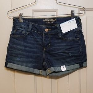 Arizona Shortie Shorts NWT